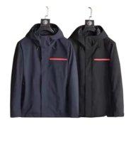 Hommes Jacket à capuche Automne et hiver Style pour hommes Femmes Coutant de brise-vent manches longues Manteaux de designer avec fermetures à glissière Lettres imprimées Hors Vakets 21SSS