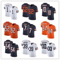 1 Justin Fields 52 Khalil Mack Custom Men Women Youth Football Jersey 9 Nick Foles 85 Cole Kmet Andy Dalton Anthony Miller Walter Payton Brian Urlacher Chicago