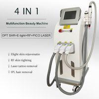 Elight Beauty Machine IPL Láser Eliminación de cabello RF RF Lift Bound Recibido Dispositivo de alta frecuencia Big Power Sistema multifunción