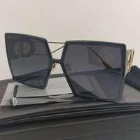 2020 Montaigne Sunglasses Sungloses de las mujeres coloreado negro Square Gafas de sol Mujeres Futurista Retro Moda Gafas de sol Hombres rectangulares 30Montaigne