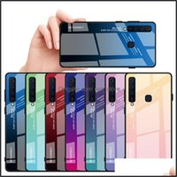 Cases Aessories Cell Phones & Aessoriescolorf Gradient Galaxy Note20 Note10 Pro Tempered Glass Phone Case Er For Samsung S20 Tra S10 S11 Plu