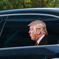 25 * 32cm Trump 2.024 Bilklistermärke Banner U.S. Presidentval PVC-bilar Fönsterklistermärkear HWD8347