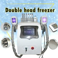 High Performance 5 In 1 Cooling Vacuum Fat Freezing And Dissolve Slimming Machine 40Khz Cavitation Body Face Radio Frequency Equipment