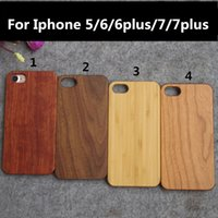 For Iphone 6 6s Plus 6plus Wood Case Handmade Hard Back Cover For Iphone 7 7 Plus Bamboo Wooden Carving Cases Shell Housing