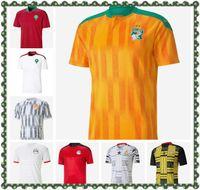 2021 European Maroc Soccer Jerseys 20/21 Maillot de Foot Ziyech Boutaib Camiseta Futbol Boussoufa el Ahmadi Chemise de football