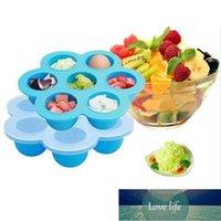 Bouteilles de rangement pots bébé conteneur bébé fruit lait lait lait boîte boîte de congélateur