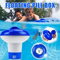 Pool & Accessories Swimming Chlorine Tablet Dispenser Spa Floating Disinfection Box 3 Sizes