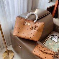 الوردي المرأة حقيبة أزياء مصمم الكلاسيكية نمط حقيبة التسوق حقيبة تسوق عالية الجودة المرأة مزاجه حقائب