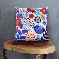 Cushion Decorative Pillow Nordic Case Decor Plant Cushion Cover For Sofa Pillowcase Covers Hogar Cojines Housse De Coussin Throw Pillows Car