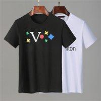 Mode Herren T-shirts Sommerhemd für Männer Frauen Kurzarm T-Shirt Kleidung Brief Muster Gedruckt T-Shirts Crew Hals Größe M-XXXL