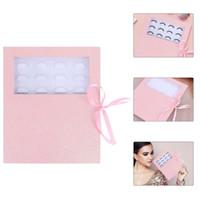 False Eyelashes Empty Eyelash Colorful Packing Box Lash Paper Case With Tray