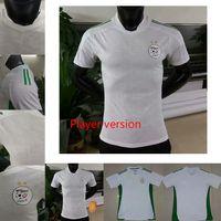 2021 Cezayir Mahrez Futbol Forması Oyuncu Sürüm Maillot Cezayir 20 21 ATAL Feghouli Slimani Brahimi Ev Uzakta Bennacer Erkekler Çocuklar Futbol Gömlek
