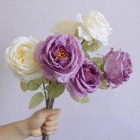 Perfect Touch Букет из роз искусственный шелковый цветок дома сад свадьба классический стиль обеденный стол украшения поддельных потоков декоративный поток