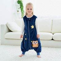 Rompers Zipper Sleeveless Bodysuit Toddler Baby Boys Girls Animal Cartoon Soft Jumpsuit Wearable Blanket Sleep Bag Clothes#30