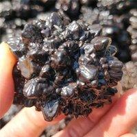 Dekoratif Nesneler Figürinler Siyah Elmas Kristal Kehanet Kaya Karbonado Cevher Örnekler Seer Taşlar Kuvars Doğal Mineral Koleksiyon DES