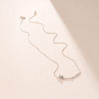 2021NEW arrival 925 Sterling Silver Chain Clover Necklace Original Box for Pandora Four-Petal Flower Necklace Women luxury designer NECKLAC