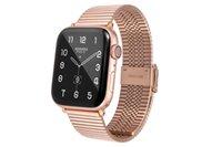 Bands Watchs для Apple Iwatch SE / S6 / S5 / S4 / S3 Fashion Fashion Acbersage Relds Beatband Metal Позолоченная цепочка из нержавеющей стали Уникальная классика