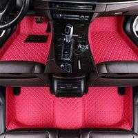 Tapetes feitos sob encomenda do assoalho do carro para Chevrolet Cruze Malibu XL Captiva faísca Sail Epica Aveo Monza Decoração de interiores Acessórios
