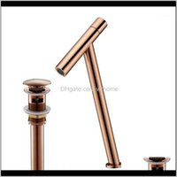 Sink Faucets Faucets, Showers As Home & Gardenvidric Rose Gold Bathroom Basin Faucet And Cold Single Handle Lavatory Mixer Tap Brass Material