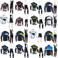 Orbea Team на велосипеде с длинными рукавами Джерси (нагрудник) Велоспорт Джерси Гель Pad Bike Set MTB Sobycle Ropa Ciclismo Мужская велосипеда Maillot Носить B617-16