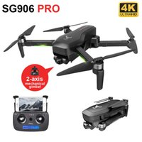 UAV SG906 Pro 2 Drone 4k HD Mechanical 2-Axis gimbal Camera 5G Wifi GPS supports TF Card Professional drones distance 1.2km Q0602
