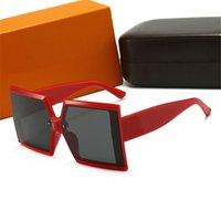 고품질 럭셔리 어항 선글라스 레트로 큰 프레임 브랜드 디자이너 빈티지 태양 안경 여성을위한 그늘 패션 UV 아이웨어 케이스