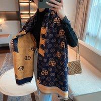 2022 модные самые продаваемые женские Xin Scarf, осень / зима теплые кашемировые напечатанные длинные шарфы 180 * 65см быстрая доставка