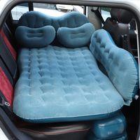 Materasso gonfiabile da viaggio per auto per dormire Divano letto all'aperto Accessori per campeggi per Auto Air Matt Cuscino