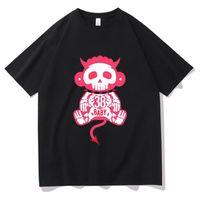 Erkek T-Shirts Youngboy Asla Yeleni Yenilikçi Hipster Tişört Karikatür Anime T Shirt Cehennem Maymun Süper Serin Erkekler Tişört Harajuku Grafik Tee Shir