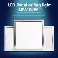 Panel Light 60x60cm 48W 30x30cm 18W LED 30x60cm 30W Cucchiaio da cucina 4800LM Illuminazione da interno AC85-265V Luci