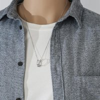 Pendant Necklaces Necklace Of Cool Hip Hop Rock Fashion Jewelry Men Boy Gifts Accessories Women Party Industrial Style Punk Hollow Out