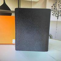 حقيبة كبيرة مكتب حلقة جدول الأعمال غطاء 20100 غطاء حامل مخطط مذكرات حالة المحفظة بطاقة A5 R21065 سطح المكتب واقية مذكرة لا kbnr