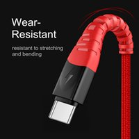 3A USB Type C Cables Fast Charging Wire 5Gbps Data Transfer USB-C Charger Cord For Samsung S20 Google Pixel 4 Xiaomi 10 Mobile Phone cable 0.5m 1m 1.5m 2m 3m