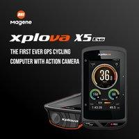 MAGENE XPLOVA X5 EVO WirelessGPS Bike Computer Wasserdichte Bluetooth 4.0ANT + Bike Radfahren Tacho Cadence Support Herzfrequenz 201120