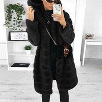 Winter Women Thicken Coat Jacket Clothing Faux-Fur' Gilet Long Sleeve Body Warmer Outwear For Woman Women's Jackets