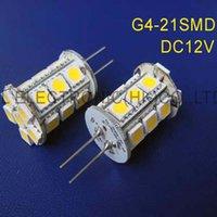 Ampoules haute qualité 12VDC 4W LED G4 lumière 20pcs / lot