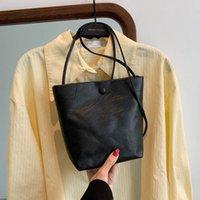 Simple Fashion Underarm 2021 New Style Korean Women's Summer Bag Bucket Shoulder Messenger Retro Jlhok