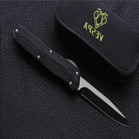 High survival VESPA Handle:7075Aluminum+TC4,Outdoor tools Knife quality camping folding Blade:M390(StoneWash) knives EDC Version Erowa