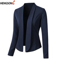 Women's Suits & Blazers Casual Blazer Ladies Office Coat Female Suit Formal Work Lady Business Outwear Women And Jackets