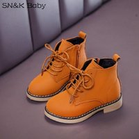 Boots Waterproof Shoes Winter Boys Snow Girls Autumn Black Kids Leather Kid 3 4 5 6 7 8 9 10 11 12 Years