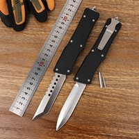 Tactical OTF Folding Knife Double Action Multifunctional Outdoor Camping Combat Manual Self-defense Automatic EDC Tool Pocket Survival Knives Fishing Blade