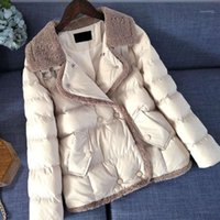 Cotton padded woman 2020 New Winter Edition Korea casual loose down jacket thickening warm short cotton-padded jacket1
