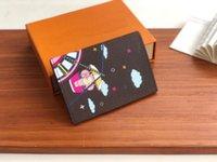 Bolsa Famosa diseñadora Classic Moda Cartera de cuero para hombres y mujeres Bolsa de bolsas de bolsillo Cambio de bolsillo Bolso de tarjeta de libro M69746