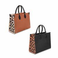 Designe Wild at Heart Series Crafty OnThego Beach Bag Tote Bags Borse in Gemana Gemana Borse da bovini con manico intrecciato Borse da donna Borse da donna Donne Shopping Totes