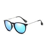 Klasik Yuvarlak Güneş Erkekler Kadınlar Renkli Sunglass Kadin Güneş Gözlükleri Gümüş Siyah Çerçeve Kılıfları ile Online