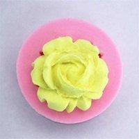 베이킹 금형 DIY 미니 로즈 몰드 퐁당 초콜릿 케이크 장식 꽃 실리카 젤 주방 액세서리 도구 0 65FS G2 K7S9