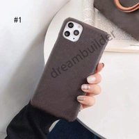 Moda Telefon Kılıfları iPhone 11 12 Pro Max Mini 7 8 Artı X XR XSMAX Kapak PU Deri Kabuk Samsung S10 S20P Not 10 20 Ultra