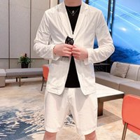 2021 MenS Suit S Suits & Blazers Summer Luxury Deisgner Clothes Jacket And Short Pants Comfortable Casual Clothing