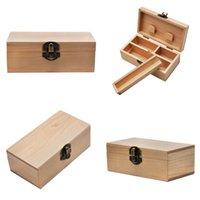 나무 숨기기 케이스 담배 보관 상자 롤링 트레이 자연 수제 나무 담배 및 흡연 파이프 액세서리 483 R2에 대 한 허브 저장 상자