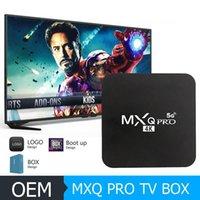 안드로이드 스마트 TV 박스 MXQ PRO 4K 안드로이드 9.0 TV 박스 RK3229 쿼드 코어 네트워크 플레이어 2GB 16GB 4K HD 2.45G 와이파이 셋톱 박스